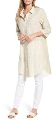 Eileen Fisher Stripe Tunic Top