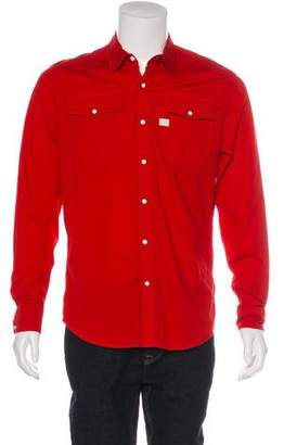 G Star Woven Long Sleeve Casual Shirt