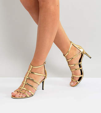 New Look Wide Fit Caged Sandal