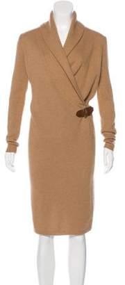 Ralph Lauren Black Label Merino Wool-Blend Sweater Dress