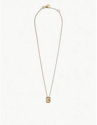 Maje B initial necklace