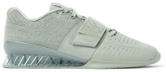 Nike Training Romaleos 3 Xd Patch Faux Leather And Velcro Sneakers