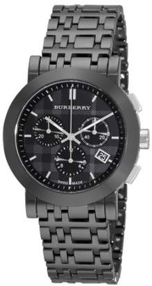 Burberry Women's BU1771 Ceramic Chronograph Dial Watch