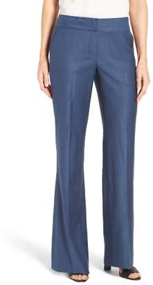 Women's Classiques Entier Flare Leg Wool Blend Suit Pants $199 thestylecure.com