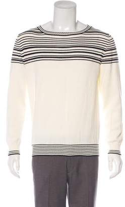 Etro Striped Scoop Neck Sweater