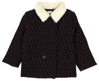 Hundred Pieces Jacquard Coat