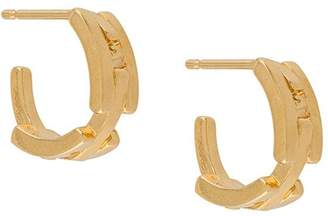 Wouters & Hendrix A Wild Original! chunky chain hoop earrings