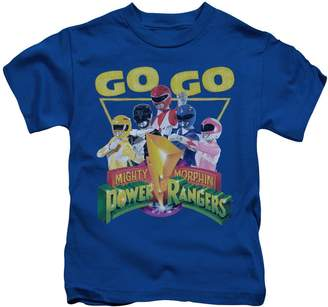 fecdf4e4220 Power Rangers 2Bhip Mighty Morphin TV Series Go Go Group Logo Little Boys T- Shirt