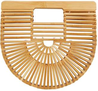 Cult Gaia Mini Gaia's Ark Bamboo Bag