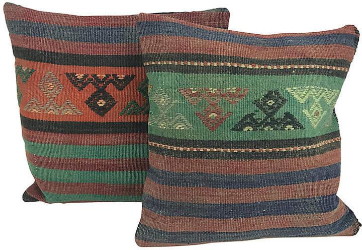 Turkish Kilim Throw Pillows