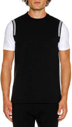 Neil Barrett Men's Varsity Short-Sleeve T-Shirt