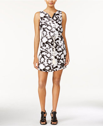 kensie Belted Tie-Dyed Dress $89 thestylecure.com