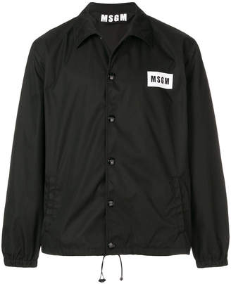 MSGM lightweight logo jacket