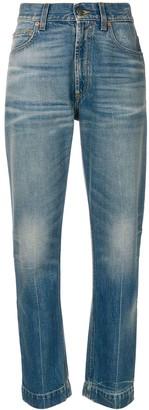 Gucci Mystic Cat print jeans