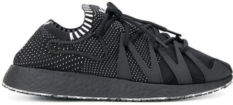 Y-3 perforated logo sneakers