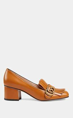 Gucci Women's Marmont Leather Pumps - Brown