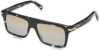 Marc Jacobs Men's Marc186s Rectangular Sunglasses