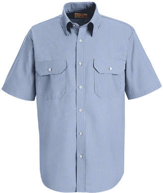 JCPenney Red Kap Deluxe Uniform Shirt-Big & Tall