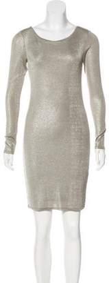 Alice + Olivia Metallic Mini Dress w/ Tags
