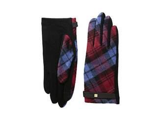 Lauren Ralph Lauren Tartan Touch Gloves
