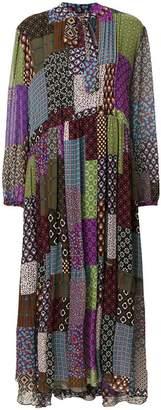 Maurizio Pecoraro patchwork print dress