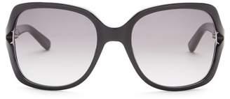 Bobbi Brown Rectangular Harper 55mm Sunglasses