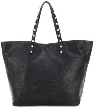 at Farfetch RED Valentino studded tote