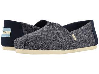 Toms Alpargata (Navy Terry Cloth