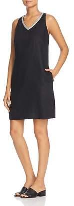 Tommy Bahama Lux Linen Embellished Shift Dress