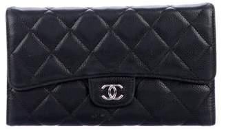 Chanel Caviar Tri-Fold Wallet