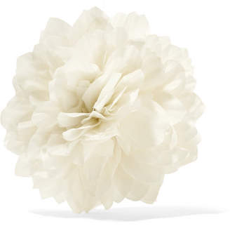 Gucci Floral Silk Brooch - Ivory