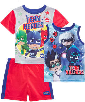 Disney Juniors® 3-Pc. Pajama Set, Toddler Boys