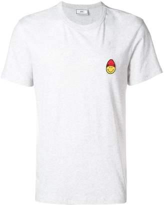 Ami Alexandre Mattiussi T-Shirt Smiley Patch