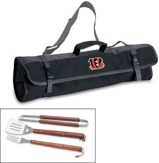 Picnic Time Cincinnati Bengals 4-pc. Barbecue Tote Set