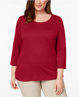 6a19a25bb161d Karen Scott Plus Size Clothing - ShopStyle Canada