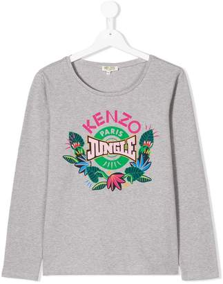 Kenzo Jungle logo T-shirt