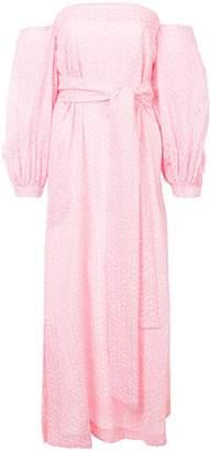 Lisa Marie Fernandez pattern detailed maxi dress