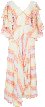 Gl Hrgel Rainbow Striped Dress
