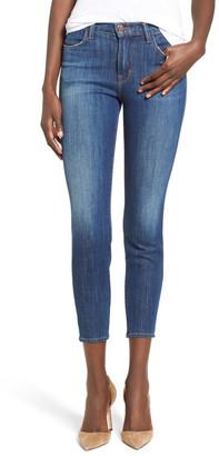 J Brand Alana High Rise Crop Skinny Jean $228 thestylecure.com