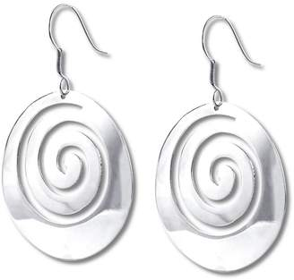 Diana Circle Swirl Earrings