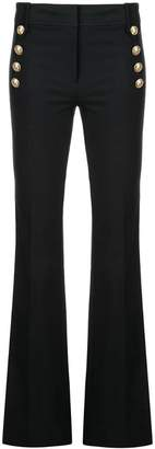 Derek Lam 10 Crosby Crosby Flare Trouser with Sailor Buttons