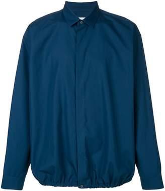 Jil Sander ruched detail shirt