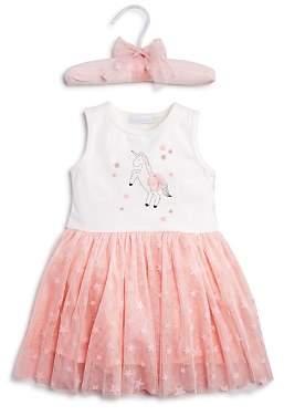Elegant Baby Girls' Unicorn Tutu Bodysuit Dress - Baby