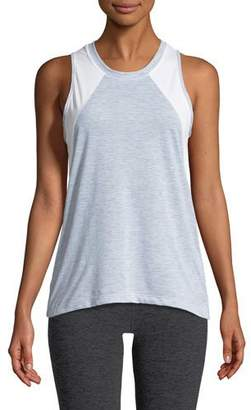The North Face Reactor Mesh-Panel Tank Top, Light Gray