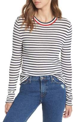 Tommy Jeans Lettuce Edge Stripe Sweater