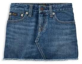 Ralph Lauren Little& Big Girl's Denim Skirt