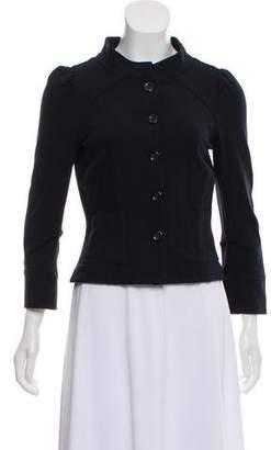 Diane von Furstenberg Long Sleeve Casual Jacket