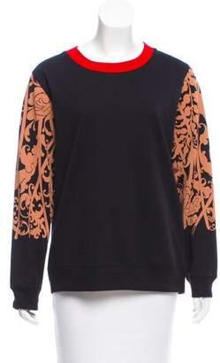 Dries Van Noten Printed Pullover Sweatshirt