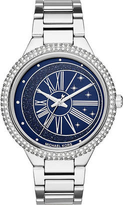 Michael Kors MK6549 Taryn stainless steel gem-embellished watch
