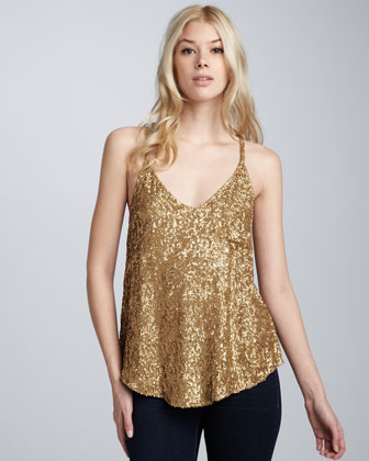 Dallin Chase Midas Field Beaded Tank